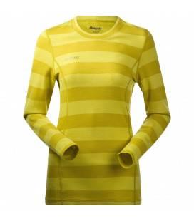 Bluza de corp Bergans Akeleie Lady - Galben