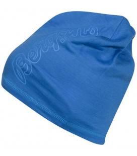Caciula 100% Lana Merinos Bergans Bloom Wool - Albastru