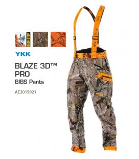 Pantaloni Alaska Elk Blaze 3D Safety Camo BIBS