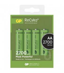 Acumulator AA (R6) NiMH Recyko+ 2700mAh 4 buc/blister GP