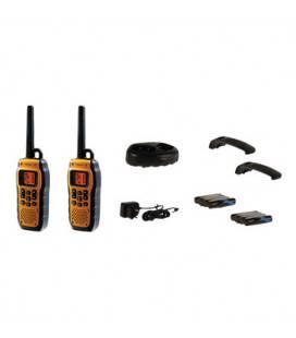 Statie radio Walkie Talkie Pro 8 canale raza pana la 10 KM cu display LCD, Topcom, 10 km