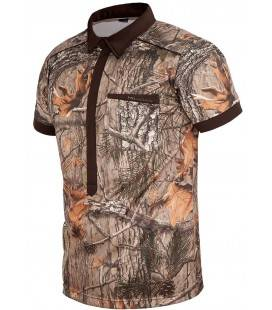 TRICOU STRETCH MAGNETIC CAMO HILLMAN