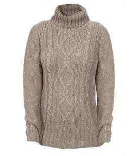 Hideaway Haven Cabled Turtleneck