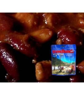 Preparat instant Travellunch Fasole picantă cu carne 250g 50245
