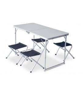 Set mobilier masă și scaune camping Pinguin