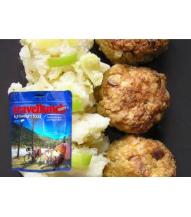 Preparat instant Travellunch chiftele carne și cartofi zdroiți 125g