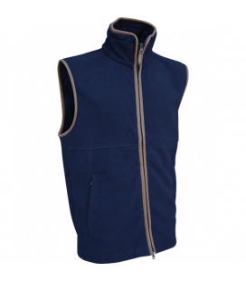 Countryman Fleece Gilet - Navy