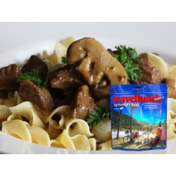 Preparat instant Travellunch Beef, Nuddle and Mushroom 125g 50135 E