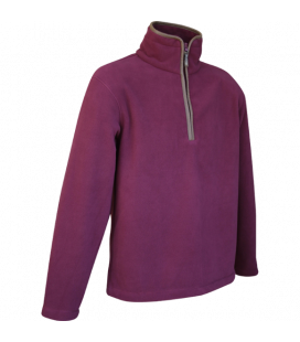 Pulover Countryman Fleece  - Burgundy