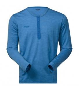 Bluza Bergans Henley Wool - Albastru