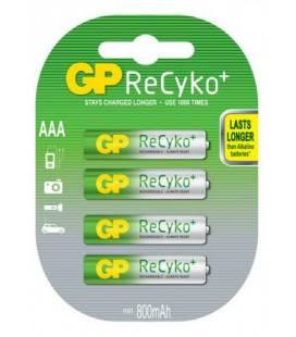 Acumulator R3 (AAA) NiMH 850mAh Recyco 4buc/blister GP