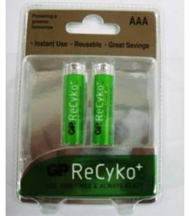 Acumulator AAA (R3) NiMH Recyco 850mAh 2 buc/blister GP