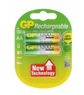 Acumulator R6 (AA) NiMH 1300mAh Low Self Discharge 2buc/blister GP