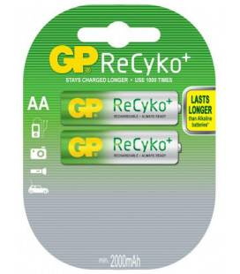Acumulator AA (R6) NiMH Recyko 2100mAh 2 buc/blister GP