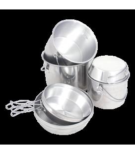 Set Militar Vase/Oale aluminiu Mil-Com LICHIDARE DE STOC