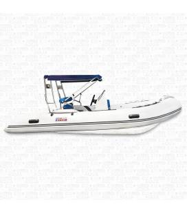 Barca Semi-Rigida cu Consola Centrala - RIB430