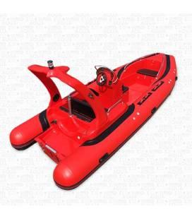 Barca Semi-Rigidacu Consola - RIB580 FRP