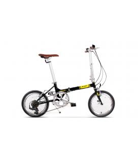 Bicicleta Pegas Teoretic Negru Stelar