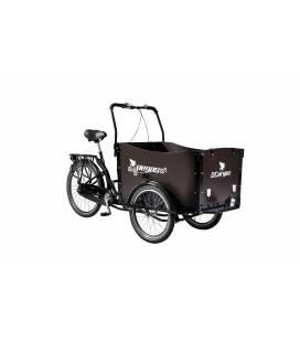 Bicicleta Pegas Cargo - Negru Stelar