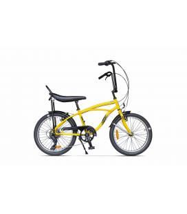 Bicicleta Pegas Strada Mini Galben Bondar 2017