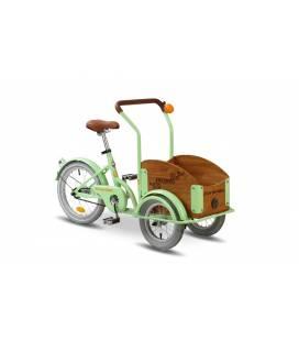 Bicicleta Pegas Bicicleta Pegas Mini Cargo Verde Fistic
