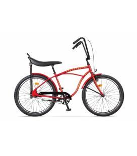 Bicicleta Pegas Strada 1 Rosu Dictator