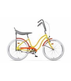Bicicleta Pegas Strada 2 Galben Flori