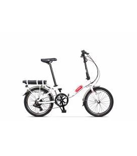 Bicicleta Pegas Camping Dinamic E-Bike Alb Perlat