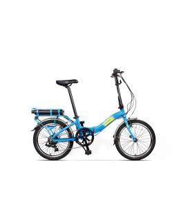 Bicicleta Pegas Camping Dinamic E-Bike Albastru Calator