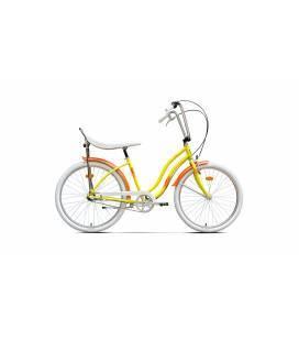 Bicicleta Pegas Strada 2 Galben Floare