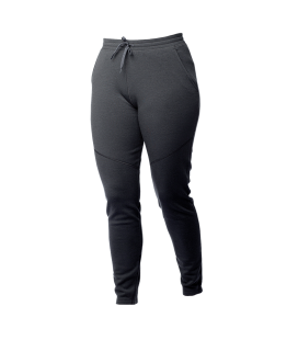 Pantaloni Alaska Merino pentru femei - Off-black