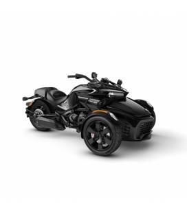Spyder F3 Steel Black Metallic MY20