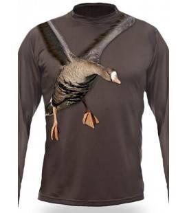 Bluza Imprimeu gasca Hillman 3D T-Shirt LS