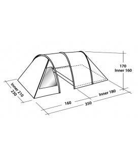 Cort Easy Camp Galaxy 300 - 3 persoane