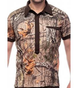 TRICOU STRETCH MAGNETIC HILLMAN CAMO