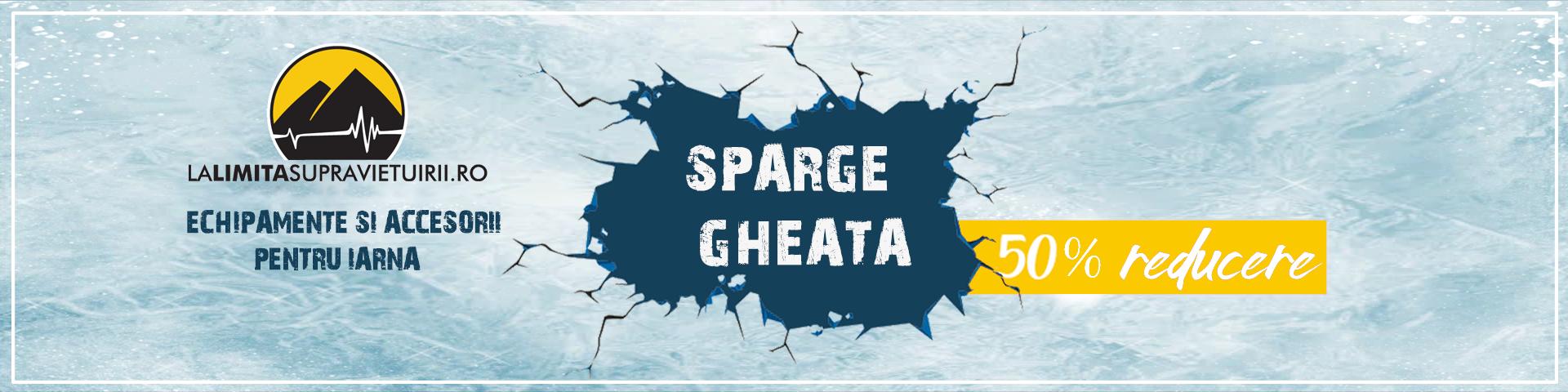 Sparge Gheata