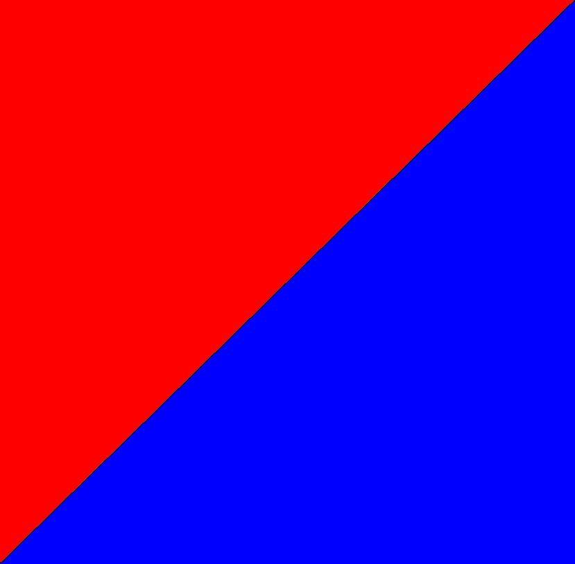 rosu/albastru